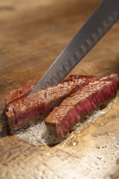 新潟市結婚式場 ブレストン 料理 肉 肉料理 オープンキッチン