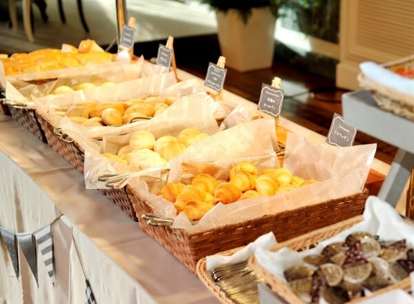 新潟市結婚式場 ブレストン パン パンビュッフェ おもてなし オリジナル 料理