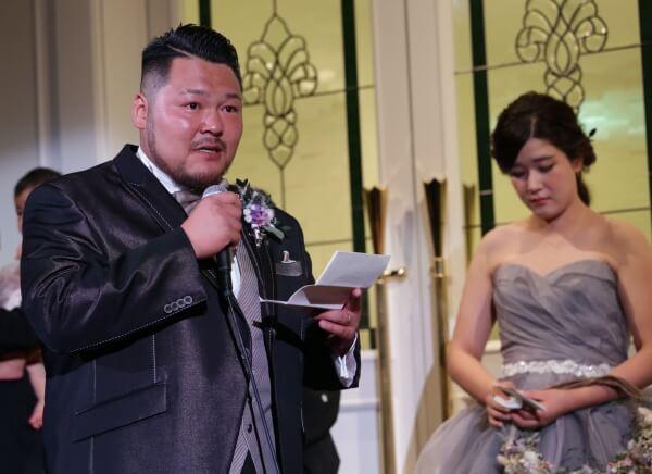 新潟市結婚式場 ブレストン ウェディングパーティ ウェディングドレス 白無垢 カラードレス リースブーケ BBQバイト