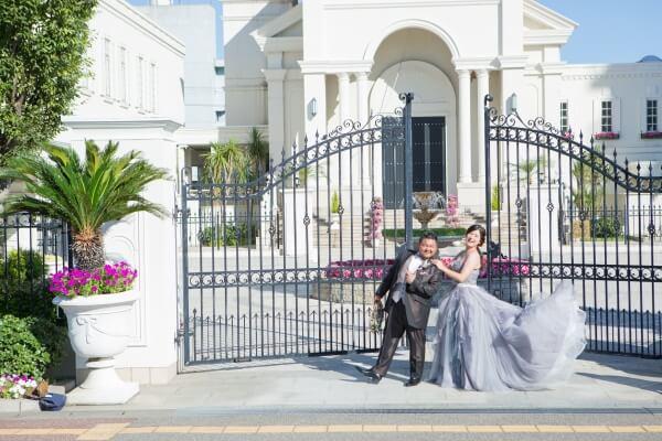 新潟市結婚式場 ブレストン 前撮り チャペル 広場 プール やすらぎ堤 万代テラス