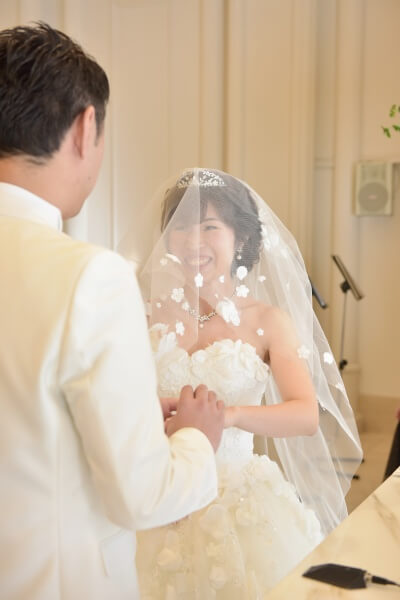 新潟市結婚式場 ブレストン エンゲージリング エンゲージカバー エンゲージカバーセレモニー リングフォトフレーム