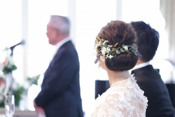 新潟市結婚式場 ブレストン ヘアアクセサリー ヘアコーディネート ヘアスタイル ティアラ 花冠
