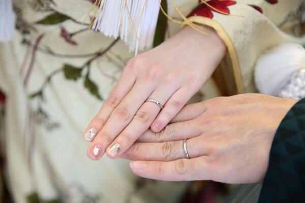 新潟市結婚式場 ブレストン ネイル ブライダルネイル ジェルネイル