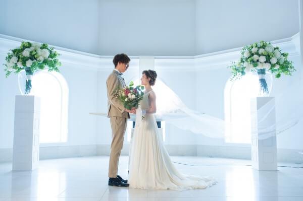新潟市結婚式場 ブレストン ナチュラル ナチュラルウェディング 和装 赤門船 前撮り ウェディングブーケ