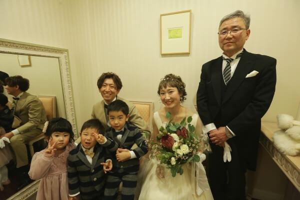 【ご両親とつくる❤】幸せいっぱいワンシーン