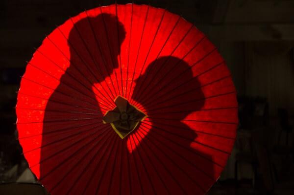 新潟市結婚式場 ブレストン 和装 番傘 前撮り