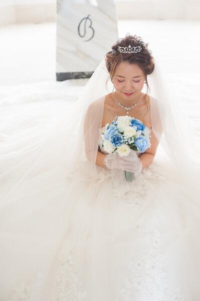 幸せな花嫁のフォーチュンカラー*サムシング・ブルー*
