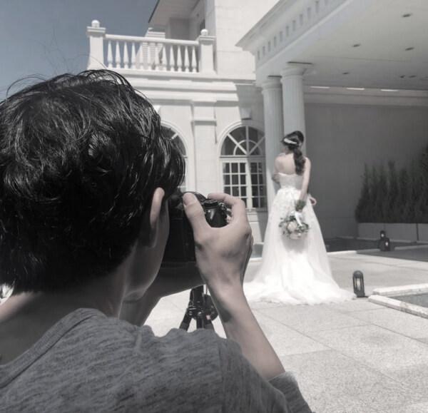 新潟市結婚式場 ブレストン コーディネート モデル 撮影 演出