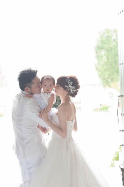 新潟市結婚式場 ブレストン パパママウェディング パパママキッズ 赤ちゃん 演出 子ども