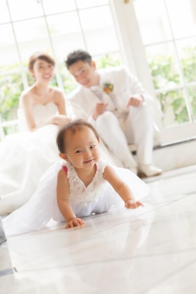 新潟市結婚式場 ブレストン パパママウェディング 演出