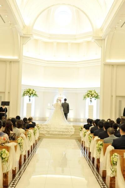 新潟市結婚式場 ブレストン チャペル式 チャペル 子ども キッズ リーフシャワー アフターセレモニー