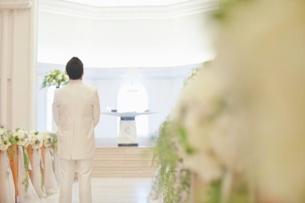 新潟市結婚式場 ブレストン ファーストミート ウェディングドレス チャペル