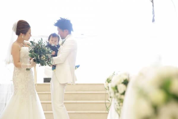 新潟市結婚式場 ブレストン パパママキッズ婚 パパママウェディング ファミリー婚 子ども 演出