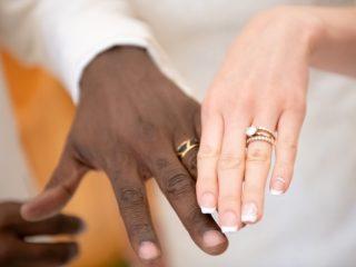 """ファーストミートで""""二人きり❤""""の指輪交換"""