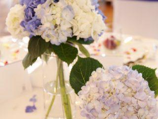 ジューンブライドにピッタリ❤紫陽花のウェディングコーディネート