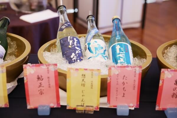 新潟市結婚式場 ブレストン 和 和婚 白無垢 色打掛 鏡開き 日本酒 ビュッフェ 酒の陣 スタンプラリー