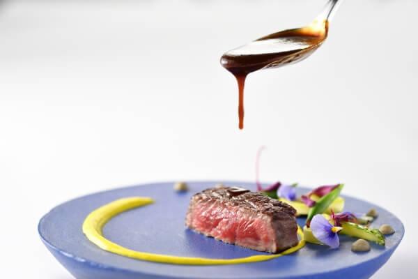 新潟市結婚式場 ブレストン 料理 オープンキッチン