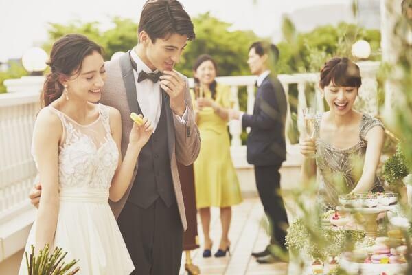 新潟市結婚式場 ブレストン デザートビュッフェ スイーツ デザート おつまみ グランピング オリジナル