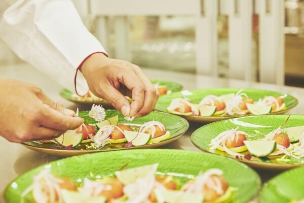 新潟市結婚式場 ブレストン お料理 和洋折衷 和食 洋食 コース