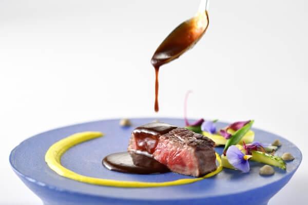 新潟市結婚式場 ブレストン 料理 肉 メイン 試食 ブライダルフェア 見学 無料d
