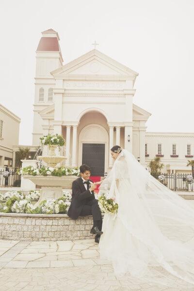 新潟市結婚式場 ブレストン ブライダルフェア チャペル 演出 試食 体験 ドレス