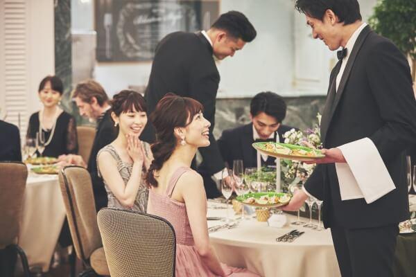 新潟市結婚式場 ブレストン おもてなし 8つのホスピタリティ 料理 サービス