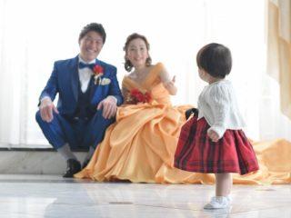 """パパママウェディング❤家族3人で叶える""""憧れの物語""""*【Wedding Party】"""