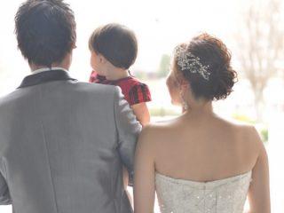 """パパママウェディング❤家族3人で叶える""""憧れの物語""""*【Chapel Ceremony】"""