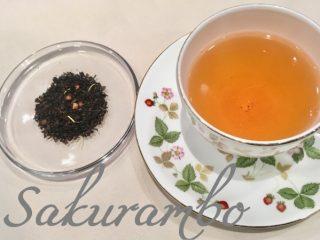 甘酸っぱい香りで春の訪れ感じる❤さくらんぼの紅茶