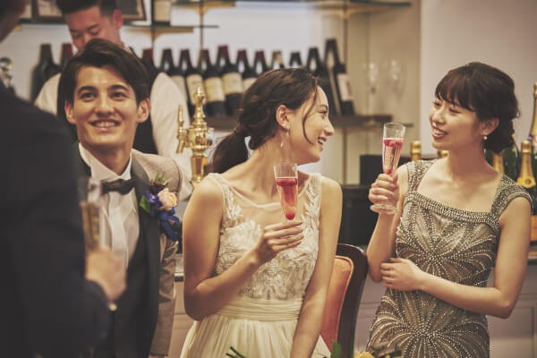 新潟市結婚式場 ブレストン 贅沢 優雅 ピアノ生演奏 生演奏 ピアノ ウェルカムパーティ おもてなし 貸切