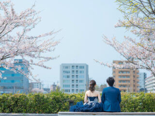 桜ピンクの世界にきゅん*桜ロケーションフォトで幸せいっぱいの思い出をのこしませんか♪