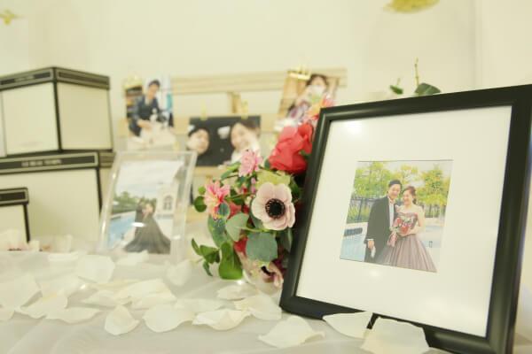 新潟市結婚式場 ブレストン ウェディングレポ プレ花嫁 ウェディングレポート ブーケ ウェルカムスペース 大人可愛い 大人 ノーブル スイート エレガント
