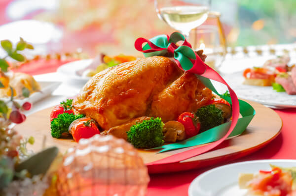 新潟市結婚式場 ブレストン クリスマス ローストチキン チキン クリスマステイクアウト テイクアウト オードブル 新潟