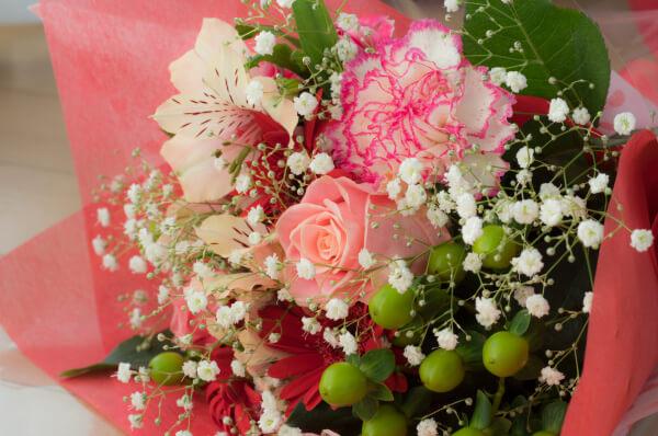 新潟市結婚式場 ブレストン 花束 テイクアウト